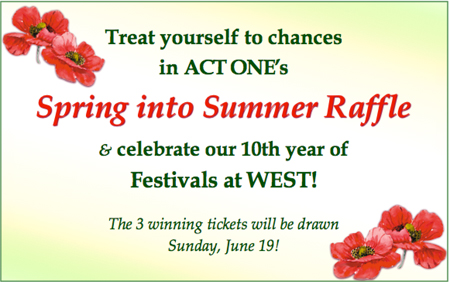 <strong><em>Spring into Summer</em/> June Raffle</strong>